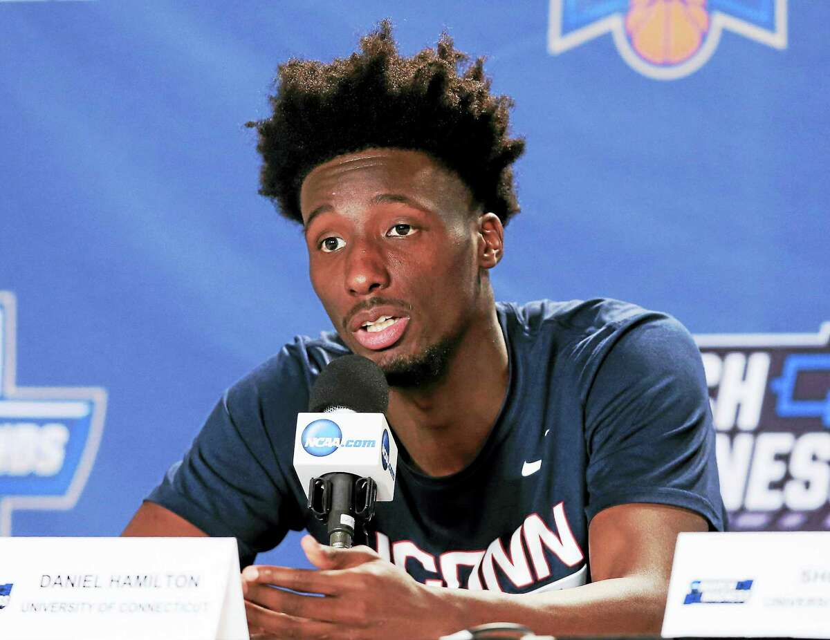 UConn's Daniel Hamilton is in his native Los Angeles preparing for the NBA draft.