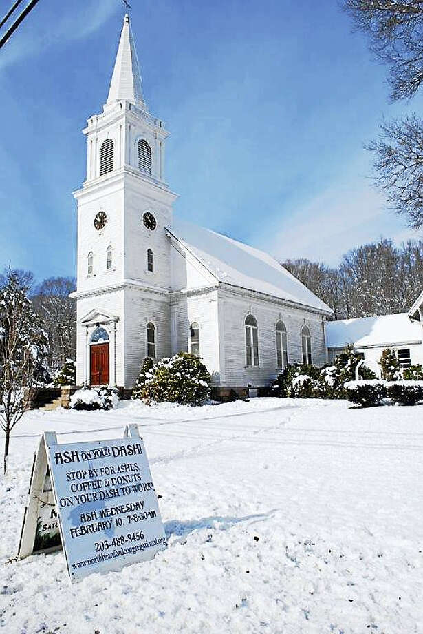 North Branford Congregational Church. Photo: PHOTO COURTESY VANCE TAYLOR