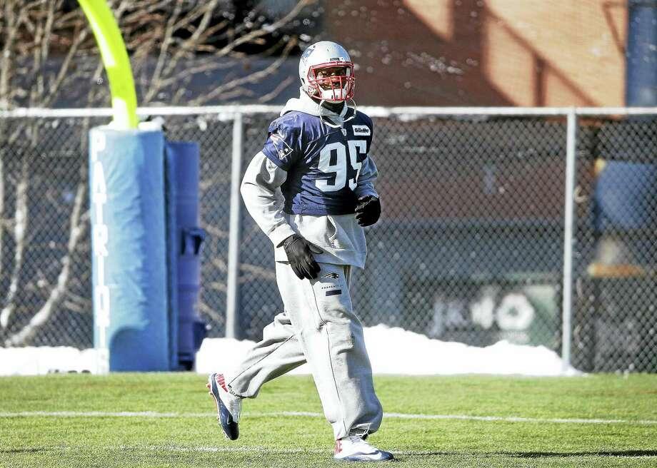 Patriots defensive lineman Chandler Jones. Photo: The Associated Press File Photo   / AP