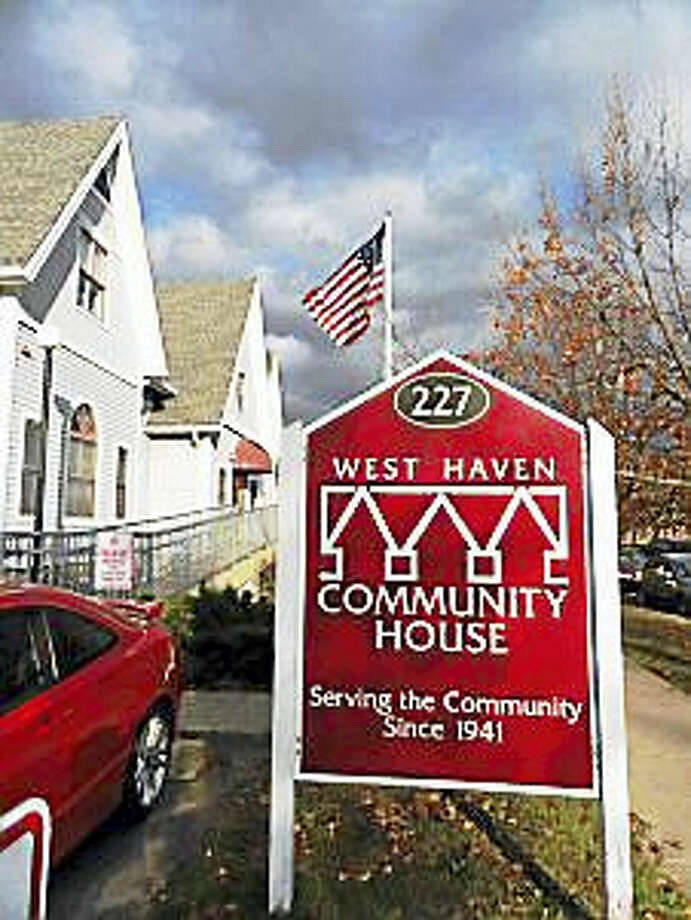 The West Haven Community House at 227 Elm St. Photo: Journal Register Co.