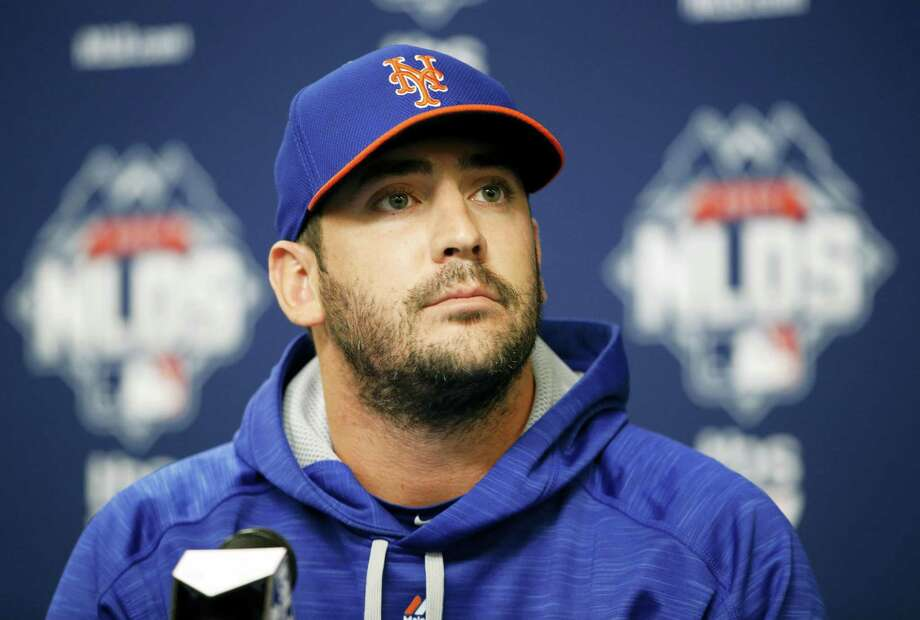 Matt Harvey, seen here in October 2015, appears open to considering a long-term contract with the New York Mets. Photo: File Photo – The Associated Press   / AP