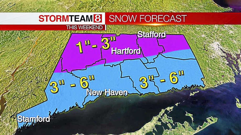 Join us for a live chat Friday to discuss this weekend's winter storm. Photo: Photo Courtesy Of WTNH