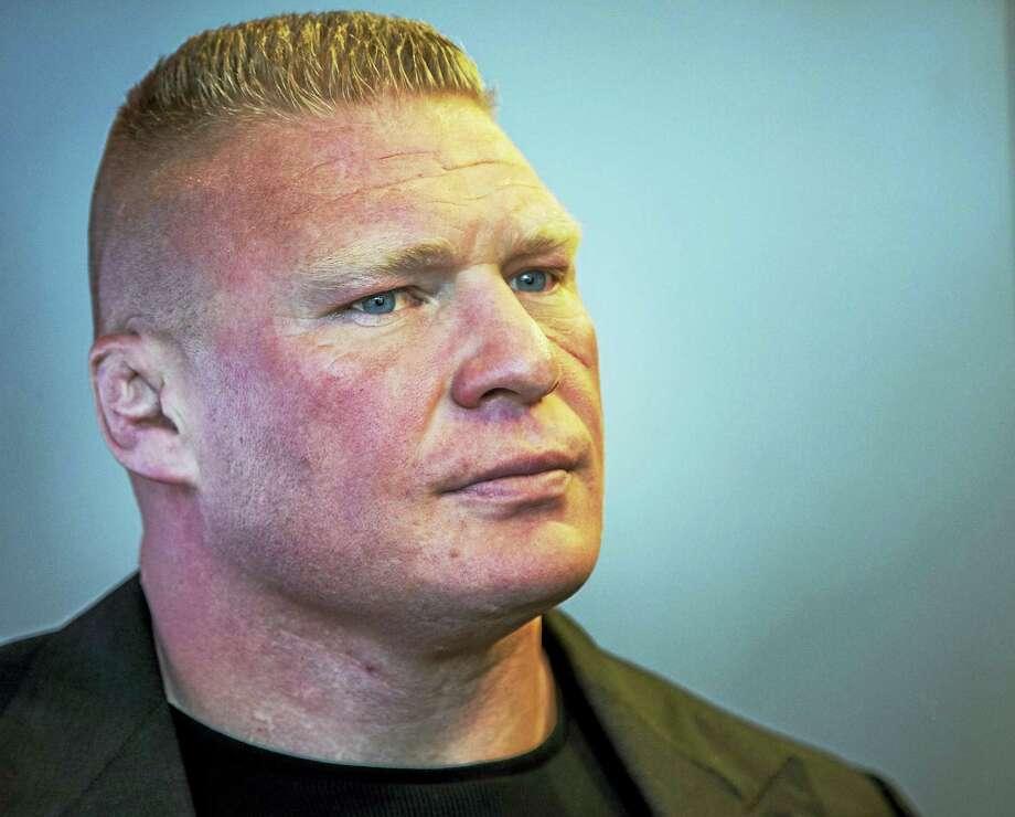 Brock Lesnar. Photo: The Associated Press    / AP