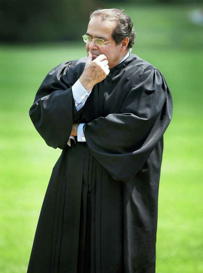 ASSOCIATED PRESS FILE PHOTO  The late Supreme Court Justice Antonin Scalia's driving legal philosophy was termed originalism, namely that the Constitution be interpreted by the intent of its authors. Photo: AP / AP