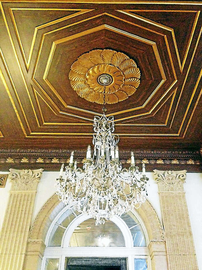 Grand Light in Seymour spent the last year restoring dozens of historical lighting fixtures from the former Hotel Syracuse in New York. Photo: Contributed Photo