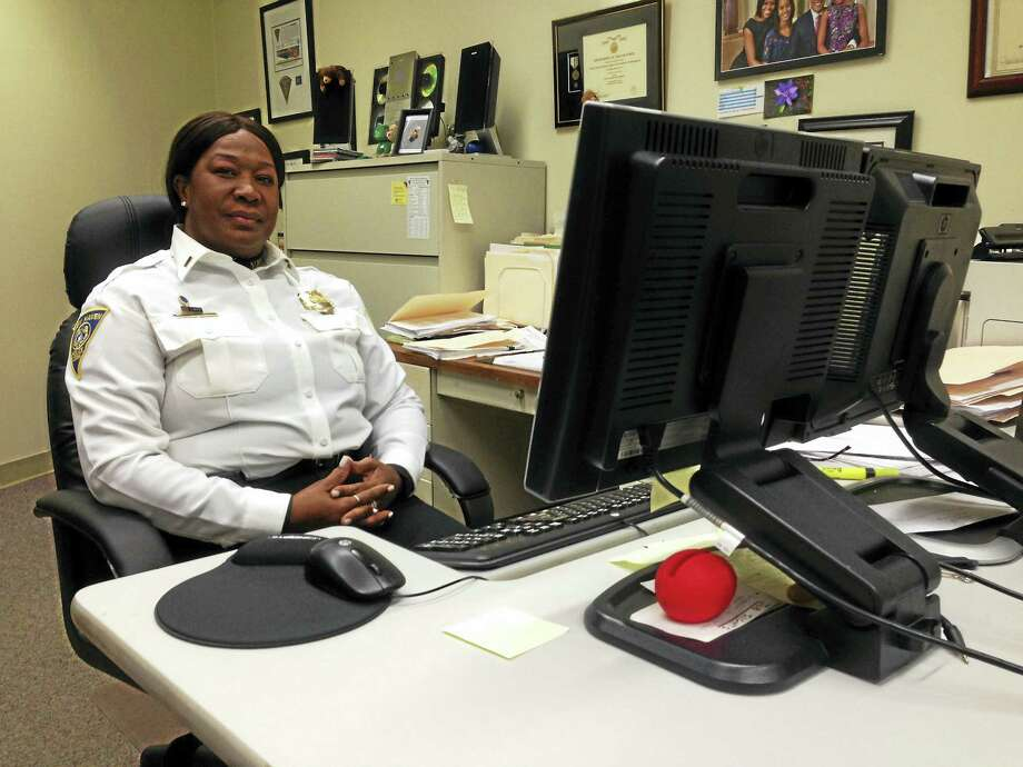 Capt. Patricia Helliger  in her office. Photo: File Photo