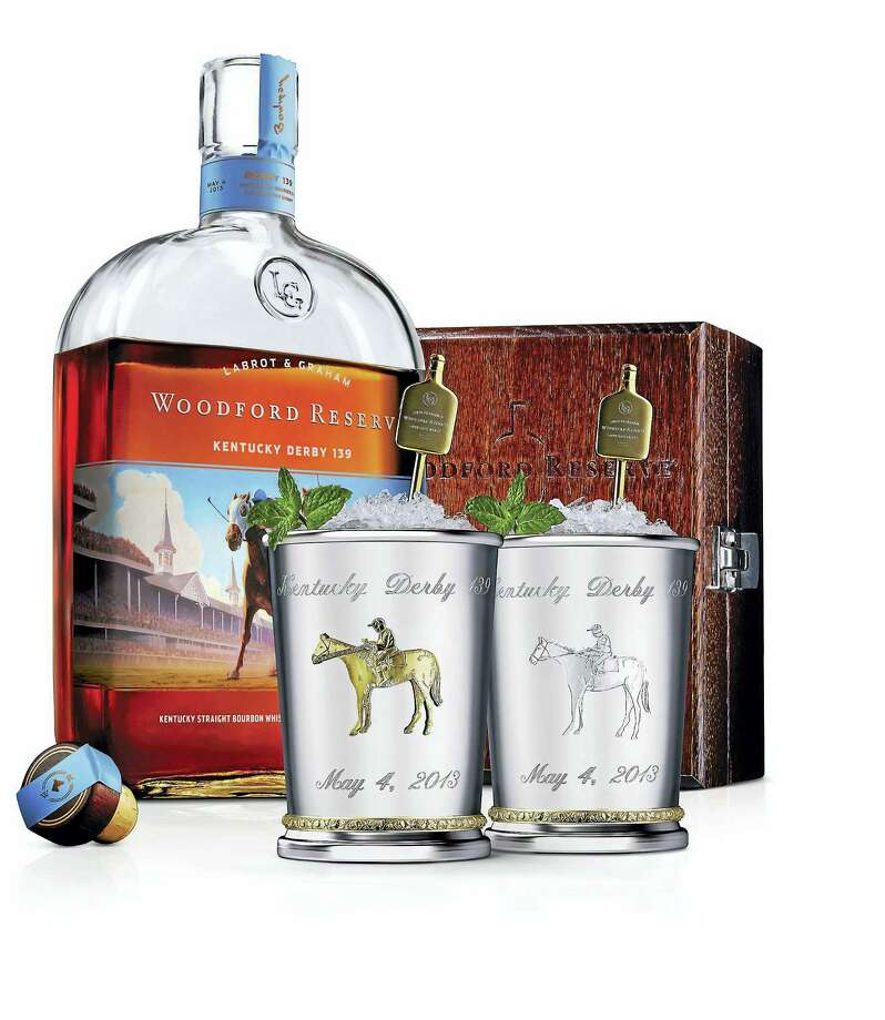 Woodford Reserve introduces $1,000 Mint Julep Cup for the Kentucky Derby. (PRNewsFoto/Woodford Reserve/via AP) Photo: PR NEWSWIRE / WOODFORD RESERVE