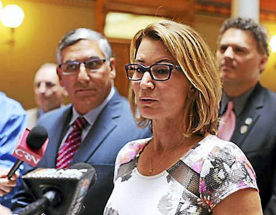House Minority Leader Themis Klarides ¬ Christine Stuart - CT News Junkie file photo Photo: Journal Register Co.