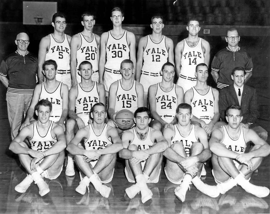 The 1962 Yale men's basketball team was not expected to contend for the Ivy League title, but ended the regualar season with nine straight victories  to win the league. Photo: YALE ATHLETICS