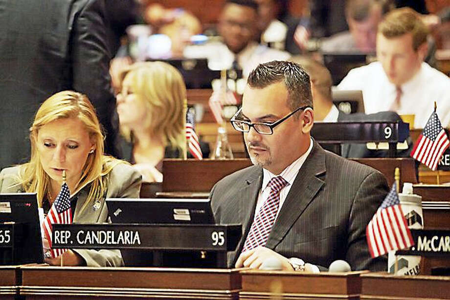 State Rep. Juan Candelaria, D-New Haven, has introduced a bill that would eliminate the sales tax on certain feminine hygiene products. Photo: Contributed