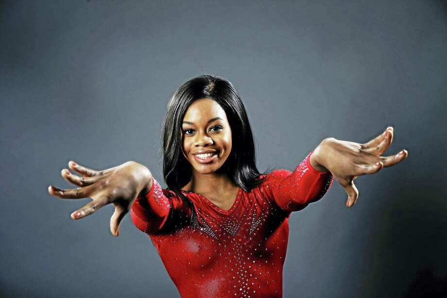 Gymnast Gabby Douglas poses for photos at the 2016 Team USA Media Summit Monday, March 7, 2016, in Beverly Hills, Calif. Photo: AP Photo — Jae C. Hong / AP