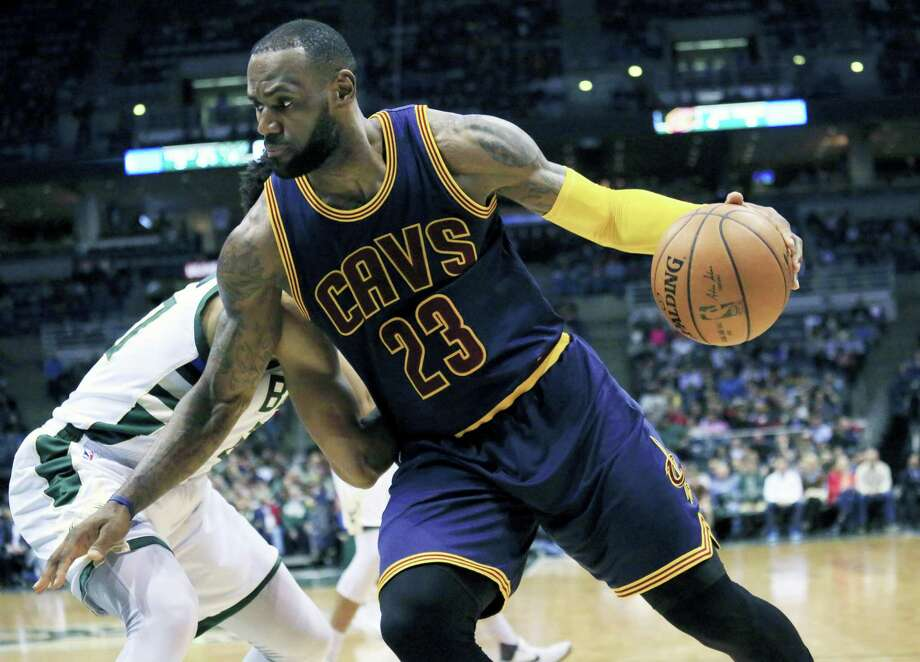 Cavaliers forward LeBron James. Photo: Darren Hauck — The Associated Press   / FR81528 AP