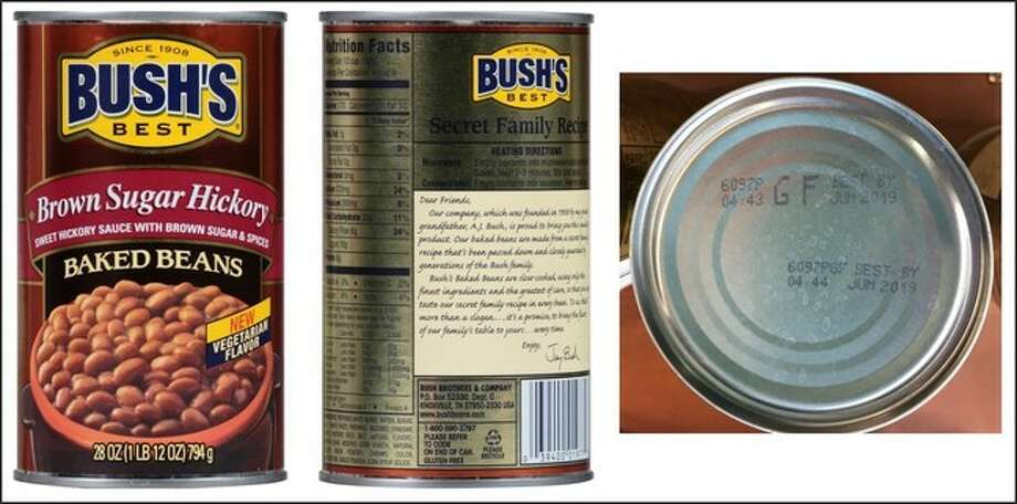 The company is recalling cans which might have cracks in the seal.>>Click to see other recalls from this year. Photo: Bush Brothers & Company