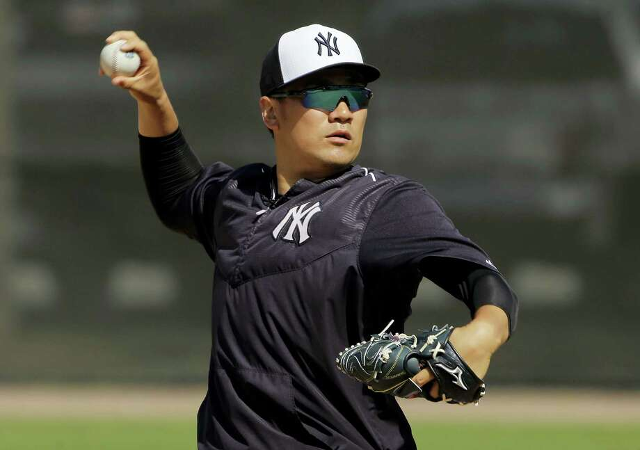 New York Yankees starting pitcher Masahiro Tanaka. Photo: The Associated Press File Photo   / AP