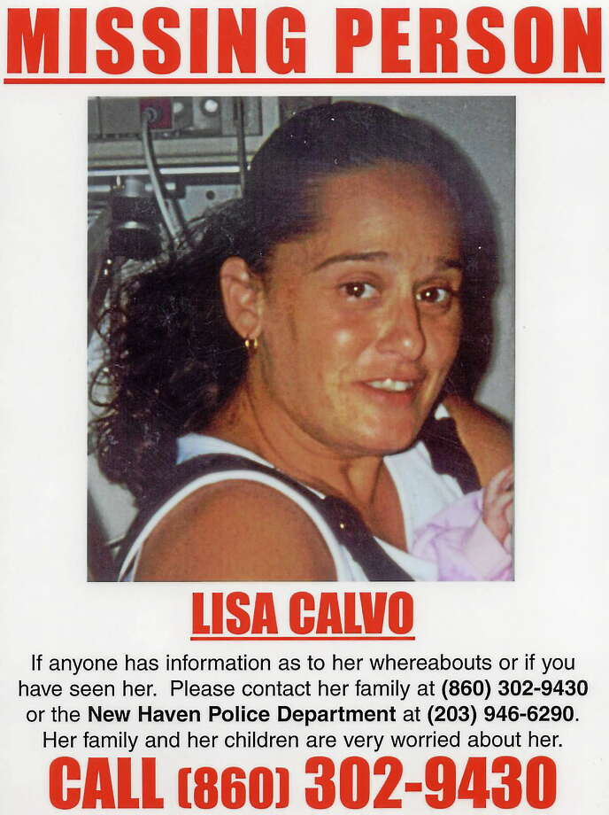 The missing poster for Lisa Calvo, who disappeared in 2005. Photo: Journal Register Co.