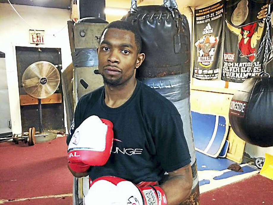 Jimmy Williams, a West Haven-based boxer, is dedicating his fight this Friday to his mother, who was murdered in 2008. Photo: David Borges — Register