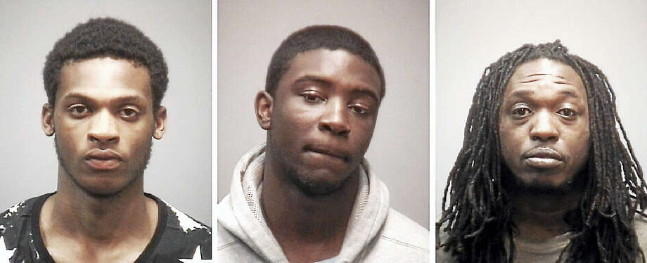 Left to right, Anthony Pritchette, Terrence Allen and Brian Ward. Photo: Photos Courtesy Of New Haven Police Department