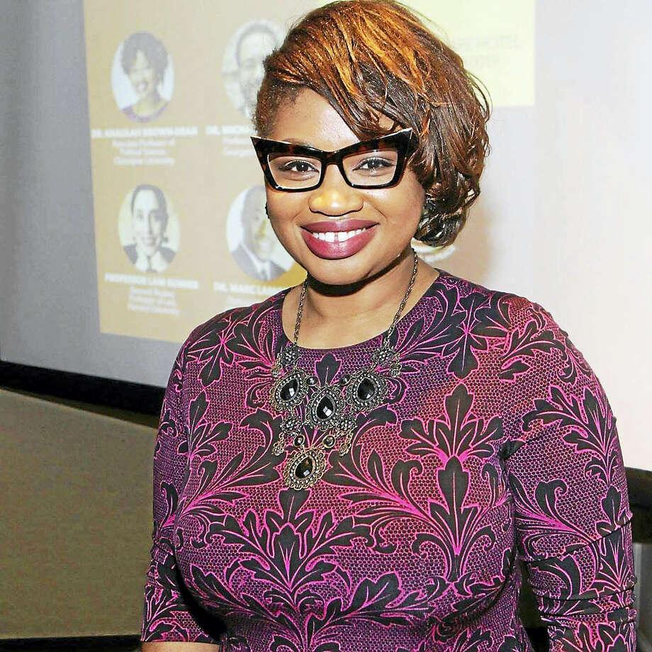 Quinnipiac University Associate Professor of Political Science Khalilah L. Brown-Dean Photo: Journal Register Co.