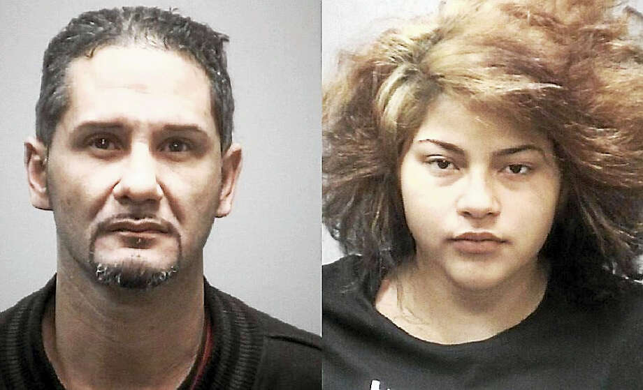Sergio Estrada and Ashley Colon Photo: Journal Register Co.