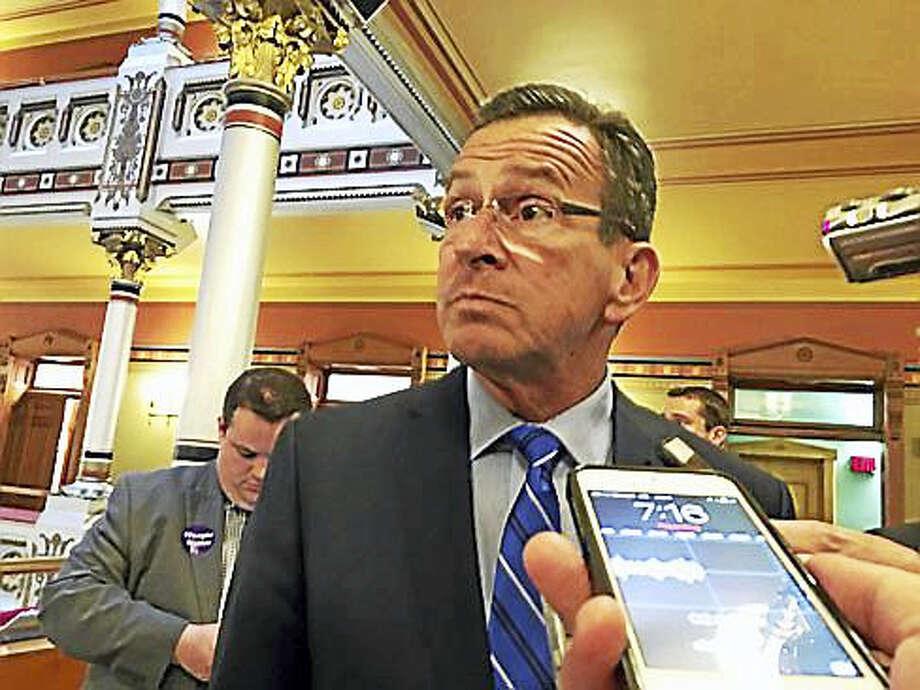 """Gov. Dannel Malloy Photo: <a Href=""""www.ctnewsjunkie.com"""">CTNewsJunkie.com</a> Photo"""