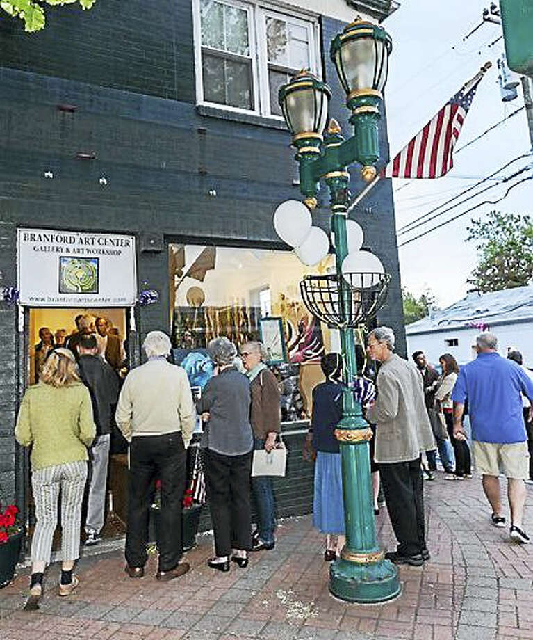 The Gallery Hop will be similar to the Shoreline Arts Trail. Photo: Contributed