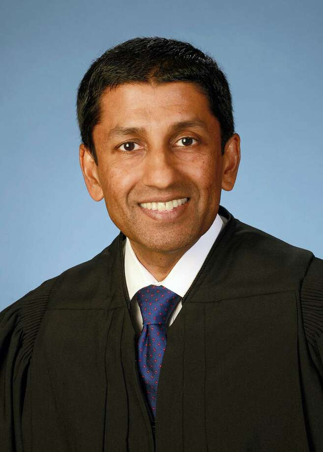 This photo provided by the U.S. Court of Appeals District of Columbia Circuit shows Judge Sri Srinivasan in Washington. Srinivasan, who was born in India and grew up in Kansas, would be the first foreign-born justice to serve on the Supreme Court in more than 50 years. The 49-year-old Srinivasan is one of several people being mentioned prominently as a potential replacement for Justice Antonin Scalia, who died last month. Photo: U.S. Court Of Appeals District Of Columbia Circuit Via AP   / U.S. Court of Appeals District of Columbia Circuit