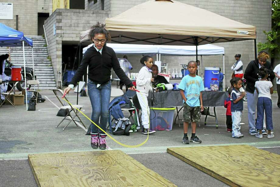 Fun and community at last year's Dixwell pop-up. Photo: Photo Courtesy Arts & Ideas