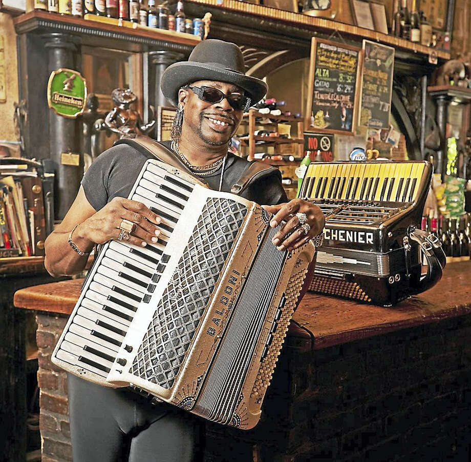 C.J. Chenier & the Red Hot Zydeco Band are in New England to add some heat to wintertime at the Cajun & Zydeco Mardi Gras Ball in Cranston, R.I., on Saturday. Photo: Contributed