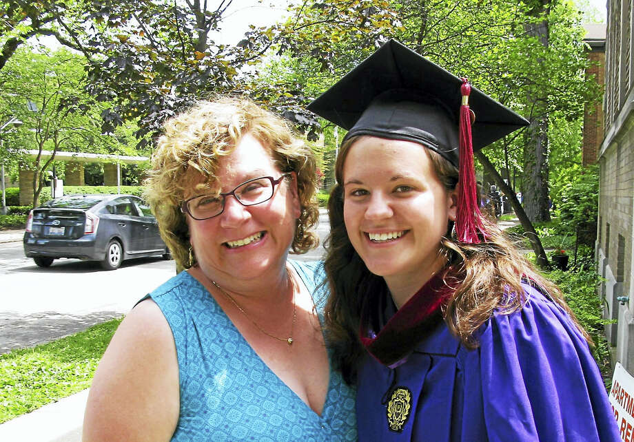 Katie Bisaro and her daughter Anna Jones Photo: Journal Register Co.
