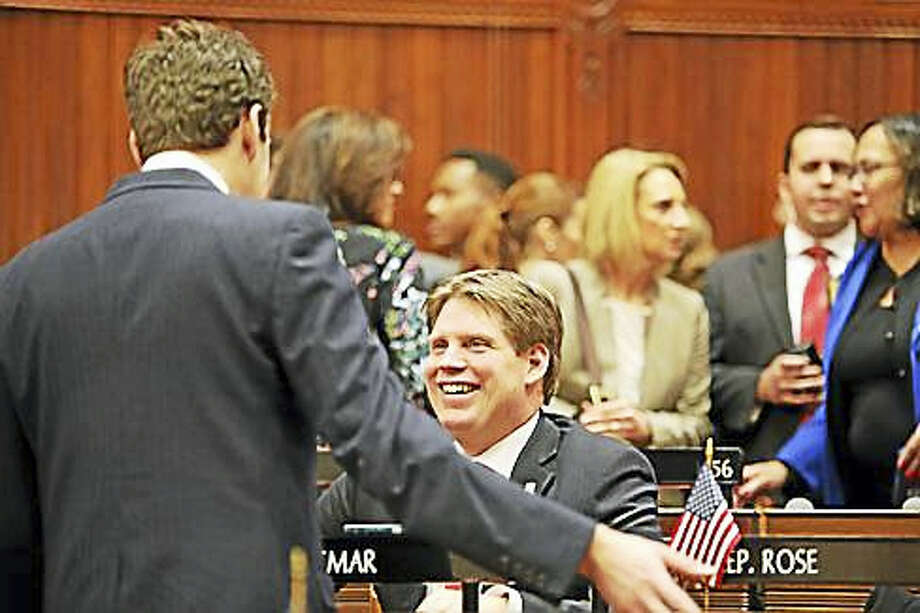 Rep. Roland Lemar on opening day of the 2016 session. Photo: Christine Stuart — CT News Junkie File Photo