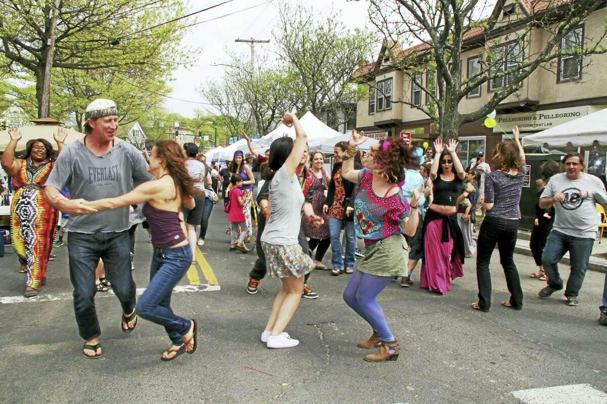 Friday night's DJ street dance party includes a beer garden.