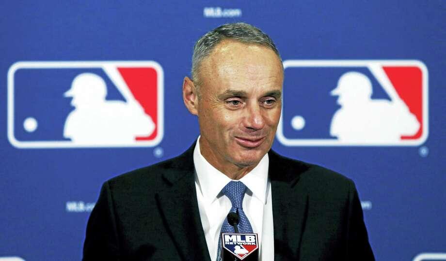 Major League Baseball Commissioner Rob Manfred. Photo: The Associated Press File Photo   / AP