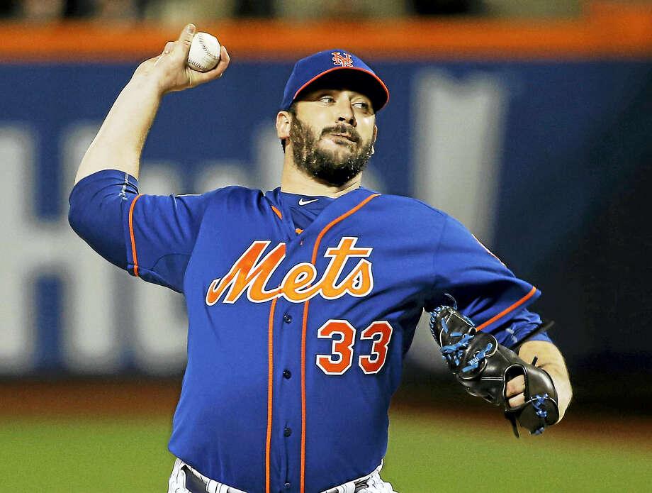 Mets pitcher Matt Harvey. Photo: The Associated Press File Photo   / AP