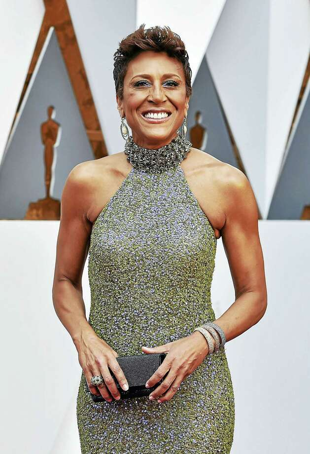 Robin Roberts arrives at the Oscars on Feb. 28 at the Dolby Theatre in Los Angeles. Photo: Jordan Strauss — Invision/AP File Photo   / Invision