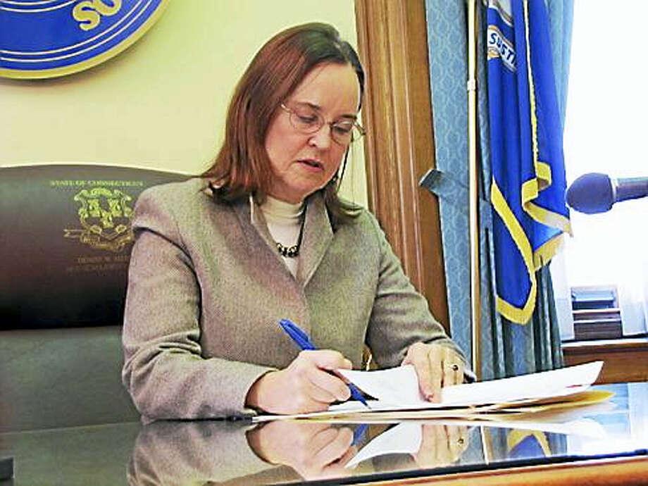 Secretary of the State Denise Merrill Photo: CT News Junkie File Photo