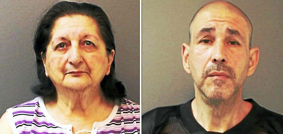 Arlene Bruneau and Richard Rich Photo: Courtesy Of Shelton Police Department