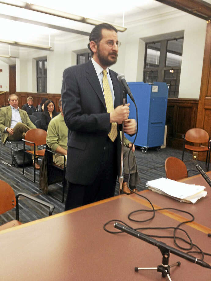 New Haven Aldermanic Majority Leader Al Paollilo, D-17, criticized previous BZA action that allowed a problematic cafe to stay open later despite police and citizen complaints. Photo: Mary O'Leary — New Haven Register