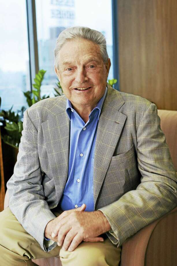 George Soros Photo: Courtesy Of The University Of Connecticut
