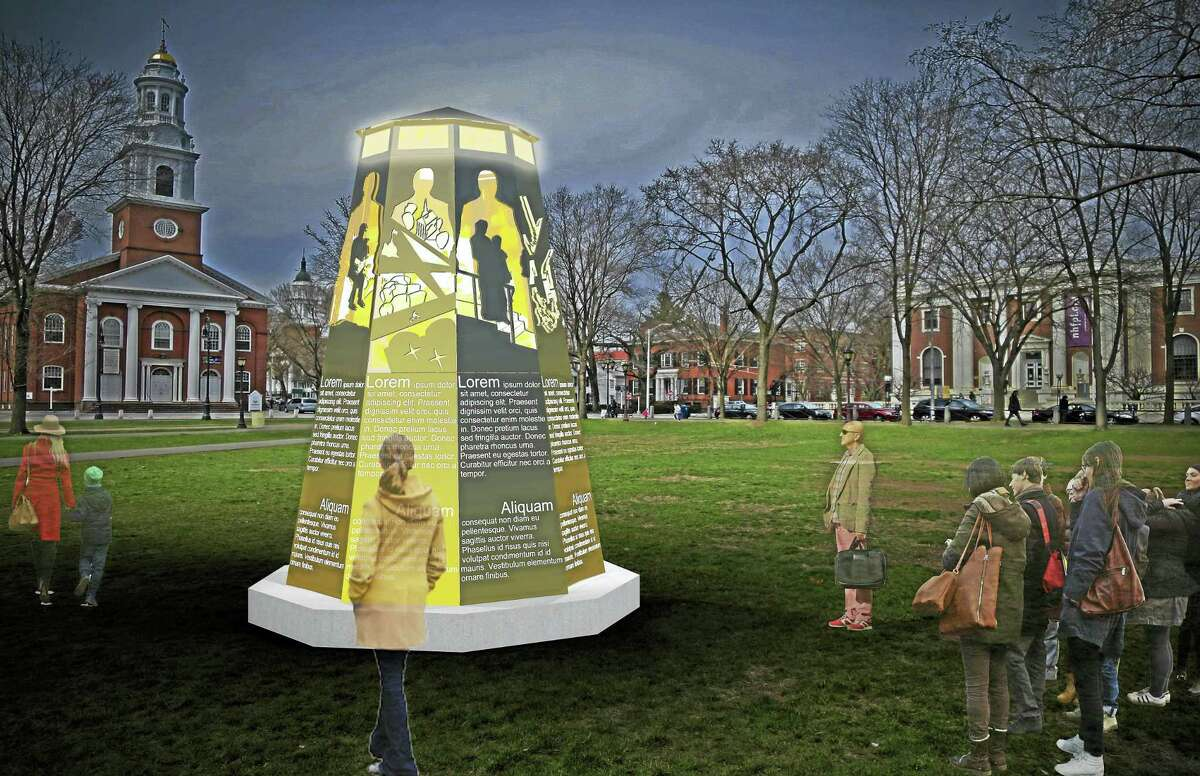 CONTRIBUTEDAn artist's conception of the Yale Humanist Community's sculpture.