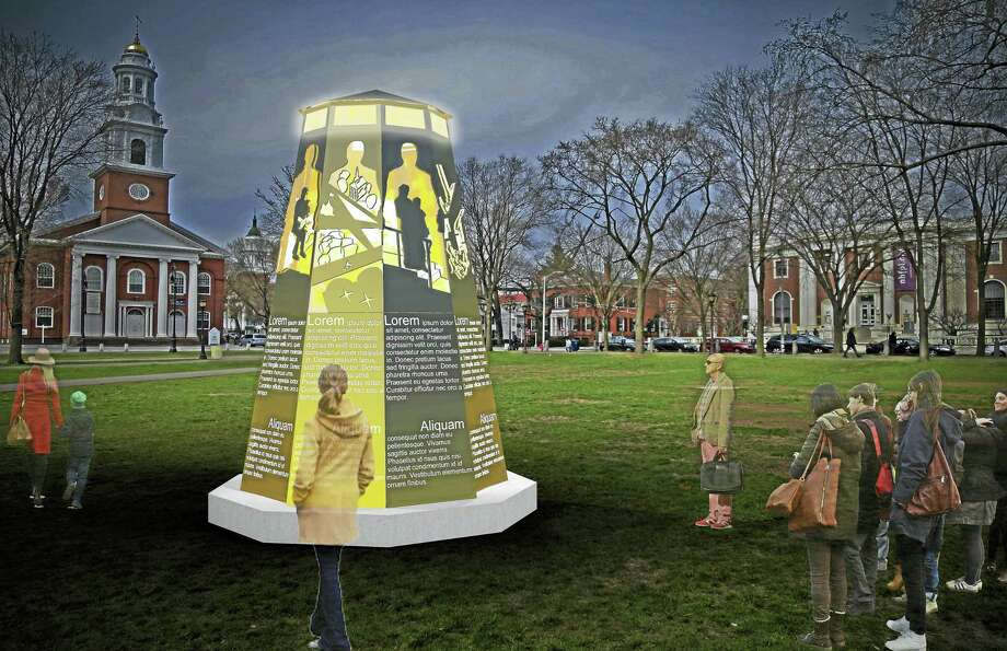 CONTRIBUTEDAn artist's conception of the Yale Humanist Community's sculpture. Photo: Journal Register Co.