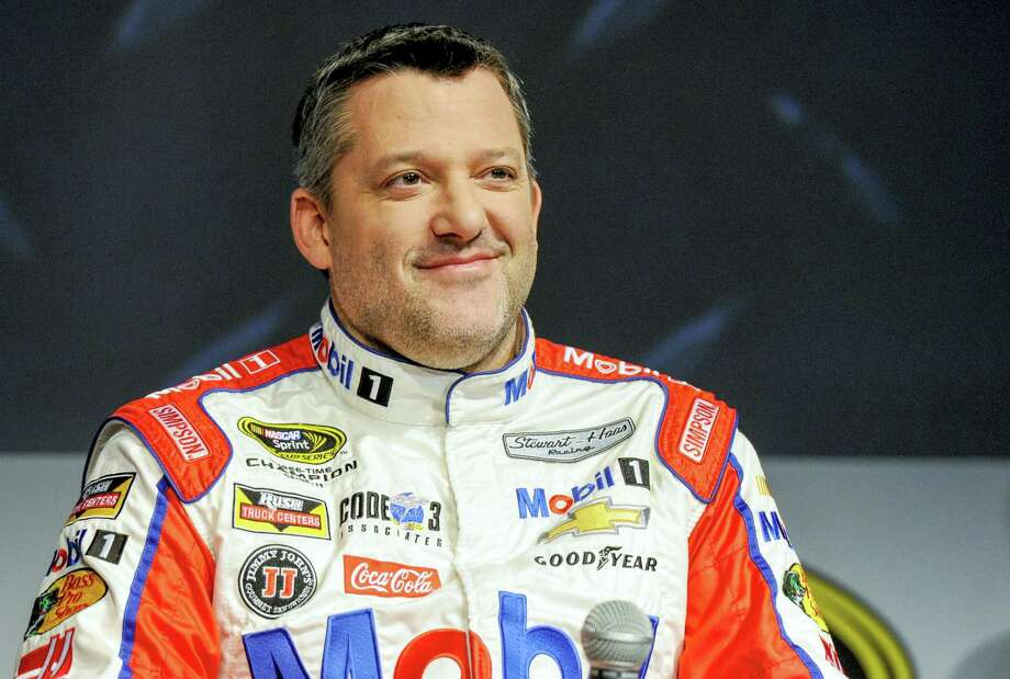 Tony Stewart, who is sidelined for the start of his final NASCAR season, will be replaced by Brian Vickers in the Daytona 500. Photo: The Associated Press File Photo   / FR34342 AP