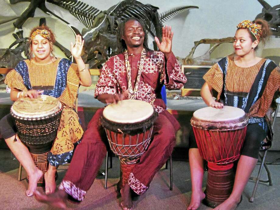 Kouffin Kanecke Co. will be drumming at the Yale Peabody Museum on Monday. Photo: Peabody Museum