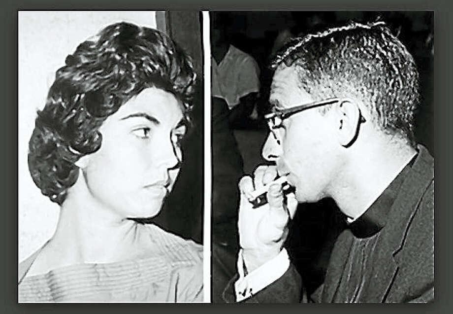 Irene Garza, left, and John Feit Photo: Screenshot Via Nydailynews.com