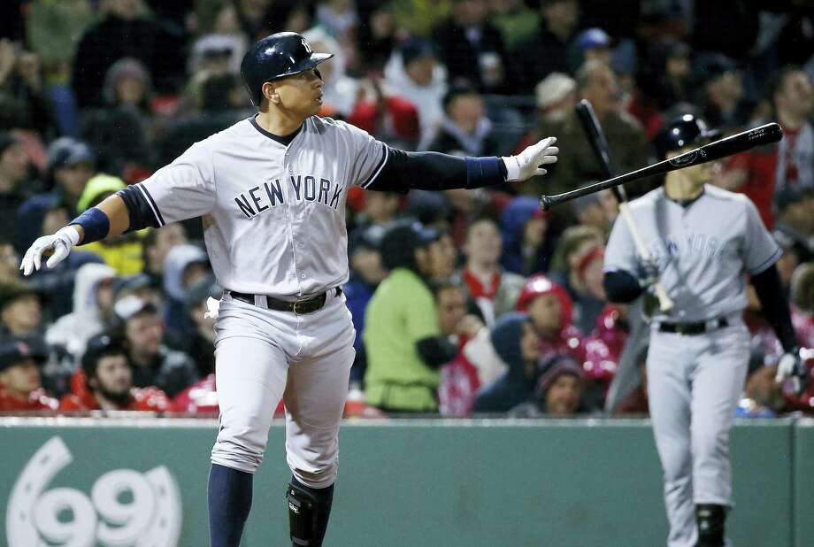 Alex Rodriguez was placed on the 15-day disabled list with a hamstring injury Wednesday. Photo: Michael Dwyer — The Associated Press   / Copyright 2016 The Associated Press. All rights reserved. This material may not be published, broadcast, rewritten or redistribu