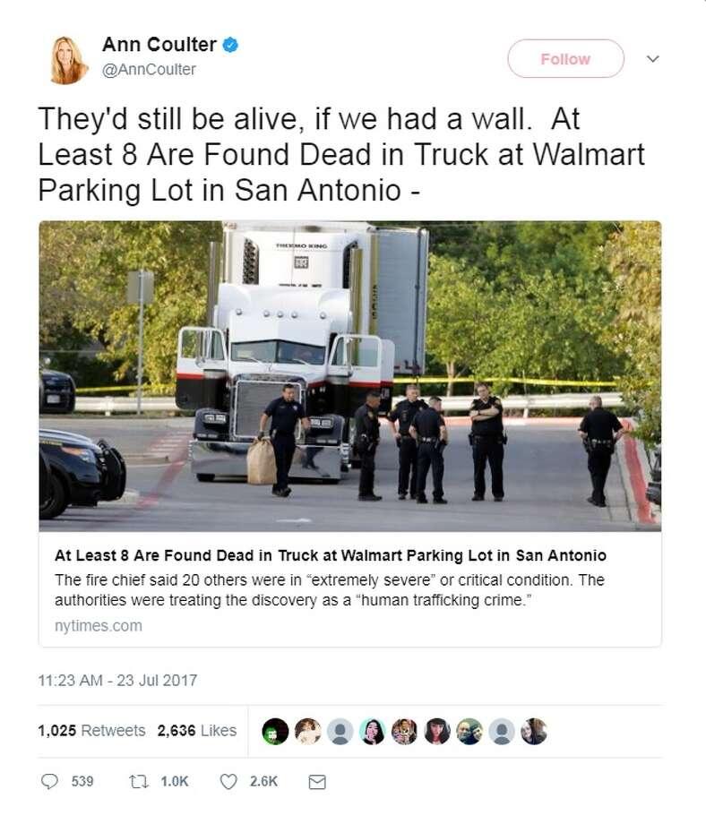 8 people found dead inside tractor-trailer, dozens taken to hospitals