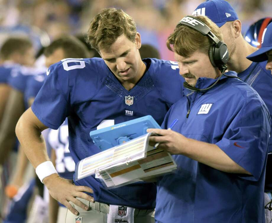 The Giants confirmed the hiring of Ben McAdoo on Thursday, a little more than a week after Tom Coughlin stepped down after 12 seasons. Photo: The Associated Press File Photo   / FR51951 AP
