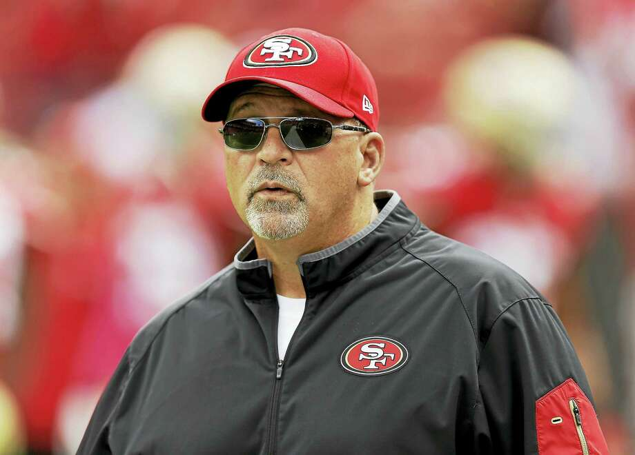 Tony Sparano was hired by the Vikings to be their new offensive line coach. Photo: The Associated Press File Photo   / AP