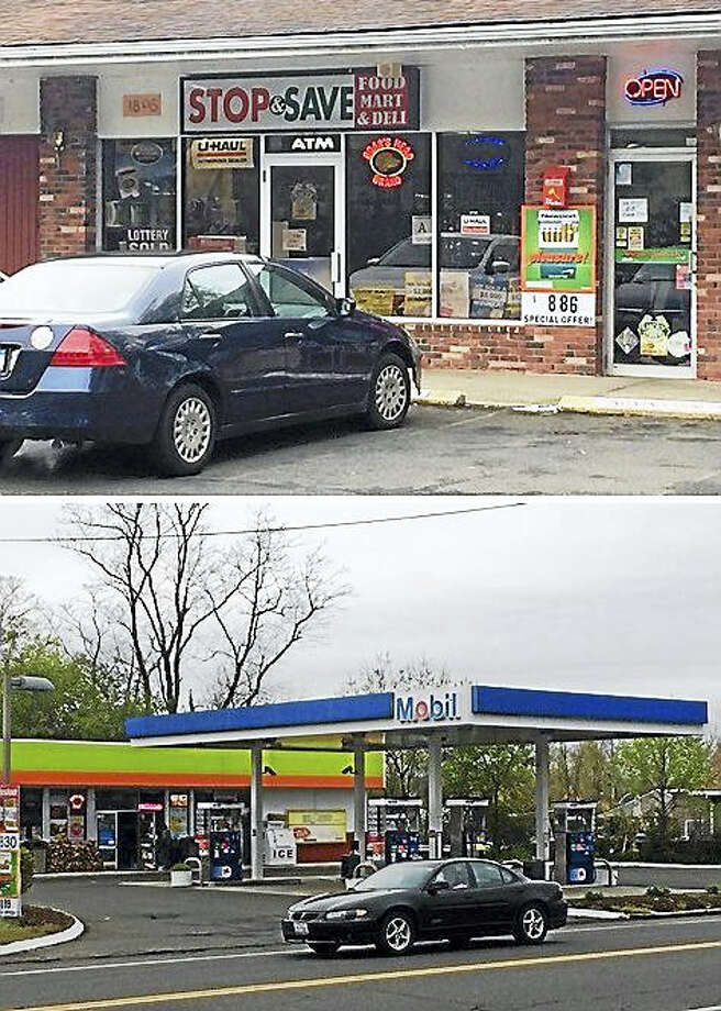 North Haven police are asking the public to call them if they have any information about break-ins early Wednesday at Stop and Save, 1895 Hartford Turnpike, and the Mobil gas station, 88 Quinnipiac Ave. Photo: Wes Duplantier — New Haven Register