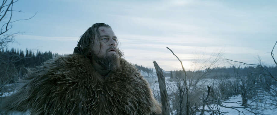 "This photo provided by courtesy of  Twentieth Century Fox shows, Leonardo DiCaprio as Hugh Glass, in a scene from the film, ""The Revenant."" DiCaprio was nominated for an Oscar for best actor on Thursday, Jan. 14, 2016, for his role in the film. The 88th annual Academy Awards will take place on Sunday, Feb. 28, at the Dolby Theatre in Los Angeles. Photo: Courtesy Twentieth Century Fox Via AP    / Courtesy Twentieth Century Fox"