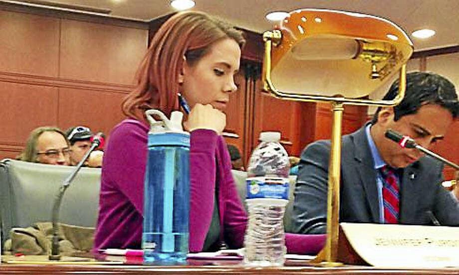 UConn student Jennifer Purdon Photo: Jack Kramer — CT NEWS JUNKIE